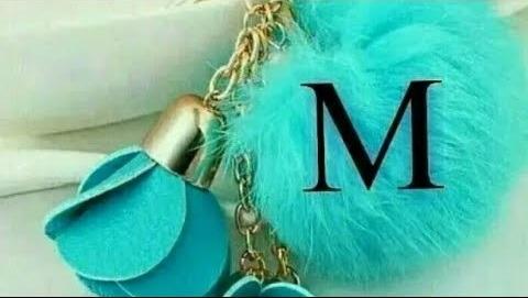 M অক্ষরের ছবি