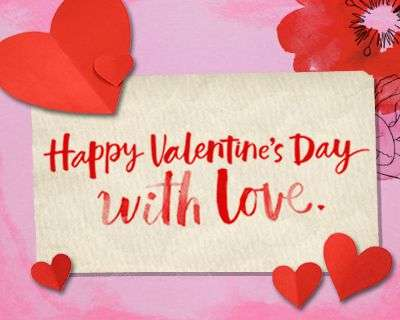 Valentines Day 2021 English SMS Wish