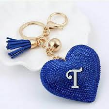 t letter images in heart