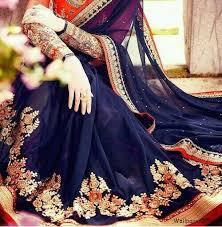 stylish saree dp for fb